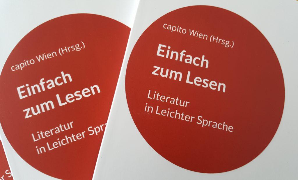 Das ist das Buch von capito Wien. Es heißt: Einfach zum Lesen.